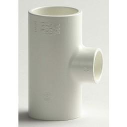 PVC T-Stuk 90º Wit, Afwijkende maten