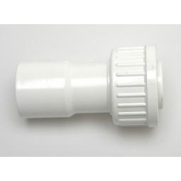 PVC VDL Koppeling 2/3 Getrompt, Wit