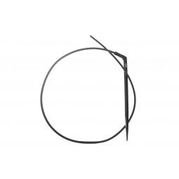 Cobra-S (haaks) 2.6 ltr.+80cm slang zwart (verp.10)