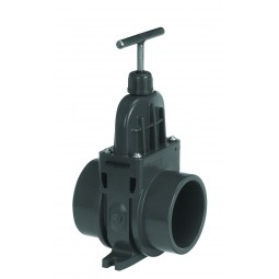 Schuifafsluiter PVC ø 110 mm VDL