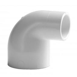 PVC Knie 90º, Wit, afwijkende maten