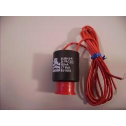 Spoel Solenoid 2 weg 24 vAC 1.7watt S390-2 rood