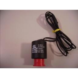 Spoel Solenoid 2 weg 24 vDC 4.2watt S390-2 zwart