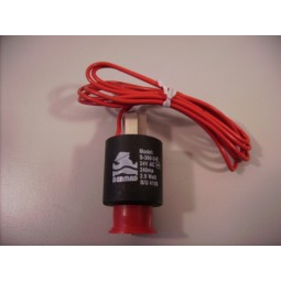 Spoel Solenoid 3 weg 24 vAC 2.9watt S390-3R rood